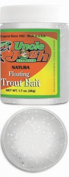 Uncle Josh Trout Bait weiss glitter