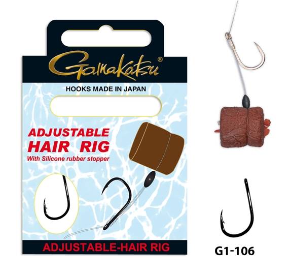 Made in Japan Gamakatsu A1 Team Feeder gebundene Haken Fine Carp
