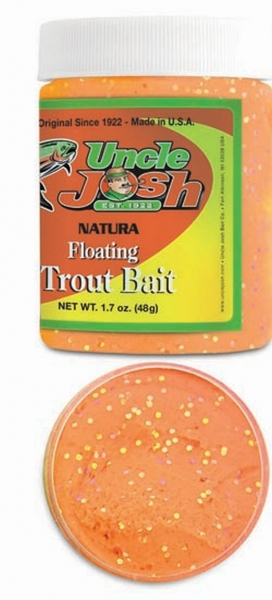 Uncle Josh Trout Bait Fluo Orange Glitter