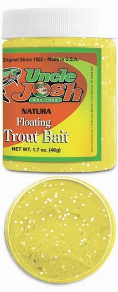 Uncle Josh Trout Bait Sunshine Gelb Glitter